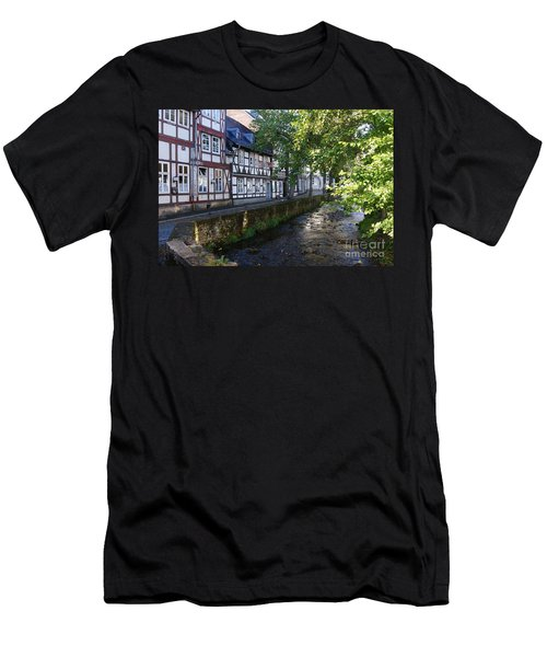 Goslar Old Town 8 Men's T-Shirt (Slim Fit) by Rudi Prott
