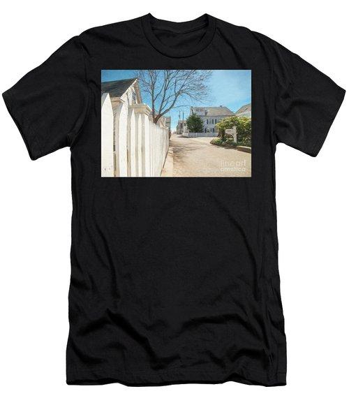 Gosnold St. Provincetown Men's T-Shirt (Athletic Fit)