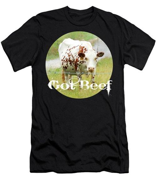 Got Beef Men's T-Shirt (Athletic Fit)