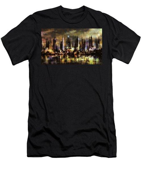 Gotham City IIi Men's T-Shirt (Athletic Fit)