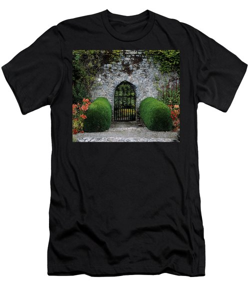 Gothic Entrance Gate, Walled Garden Men's T-Shirt (Athletic Fit)