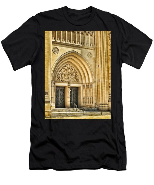 Gothic Entry Men's T-Shirt (Athletic Fit)