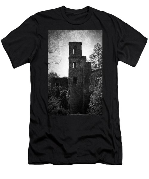 Gothic Tower At Blarney Castle Ireland Men's T-Shirt (Athletic Fit)