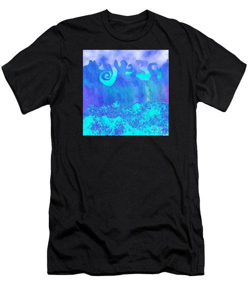 Grace Of Rain Men's T-Shirt (Athletic Fit)