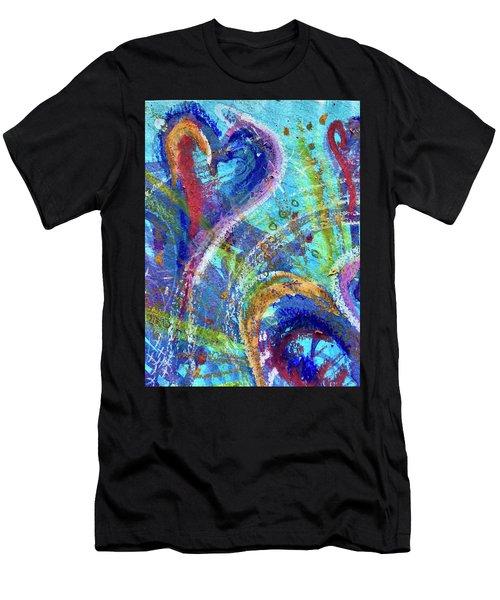 Graceful Hearts Men's T-Shirt (Athletic Fit)