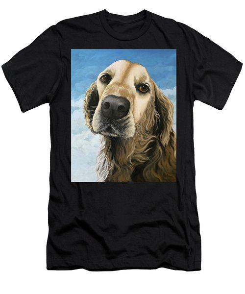 Gracie - Golden Retriever Dog Portrait Men's T-Shirt (Athletic Fit)