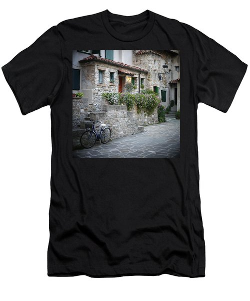 Grado Antica Men's T-Shirt (Slim Fit) by Evelyn Tambour
