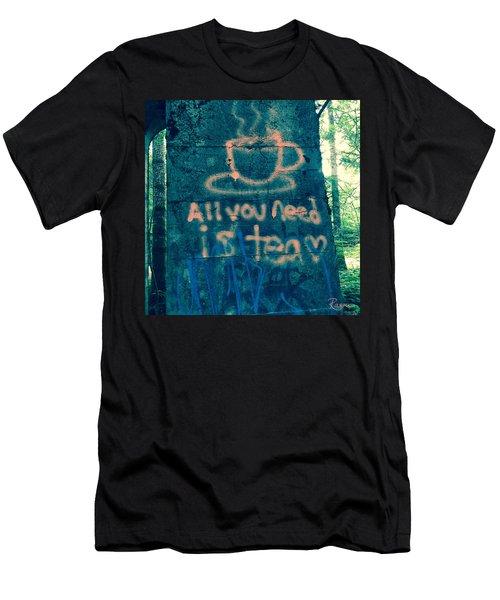 Graffitea Time Men's T-Shirt (Athletic Fit)