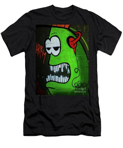 Graffiti_12 Men's T-Shirt (Athletic Fit)