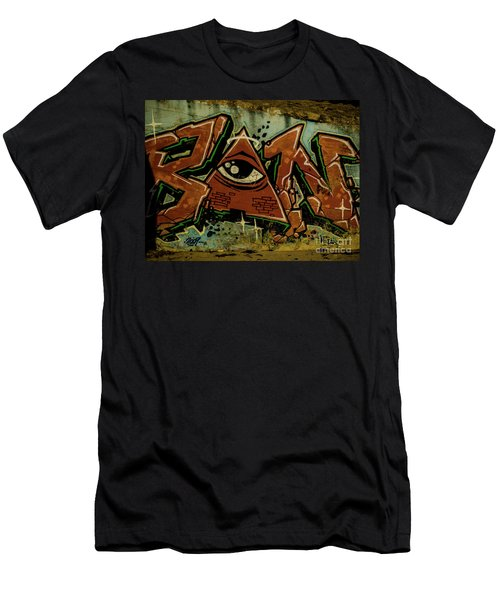 Graffiti_17 Men's T-Shirt (Athletic Fit)
