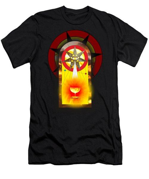 Grail Magic By Pierre Blanchard Men's T-Shirt (Slim Fit) by Pierre Blanchard