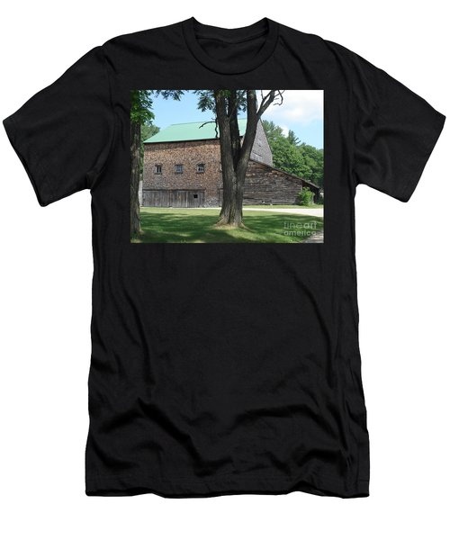 Grammie's Barn Through The Trees Men's T-Shirt (Athletic Fit)