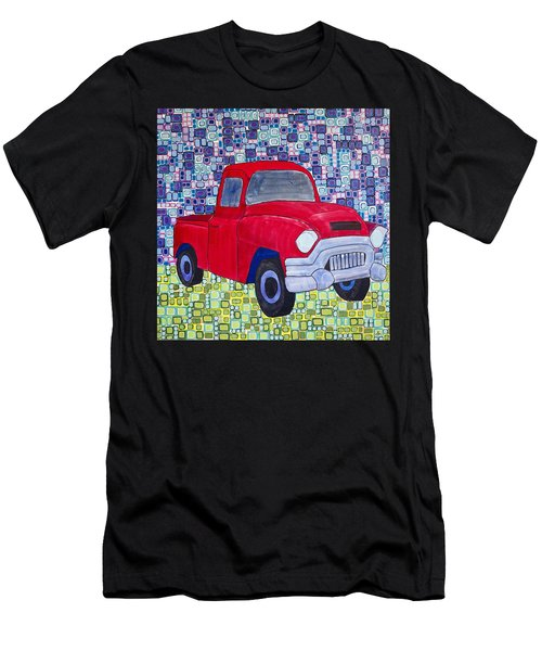 Gramps Had A Green Truck Men's T-Shirt (Athletic Fit)