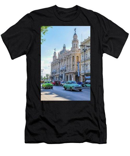 Gran Teatro De La Habana Men's T-Shirt (Athletic Fit)