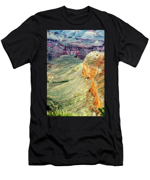 Grand Canyon Abstract Men's T-Shirt (Athletic Fit)