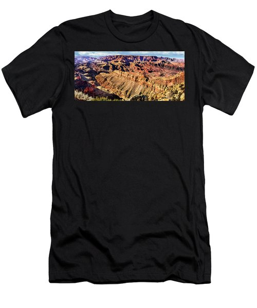 Grand Canyon Afternoon At Lipan Point Men's T-Shirt (Athletic Fit)