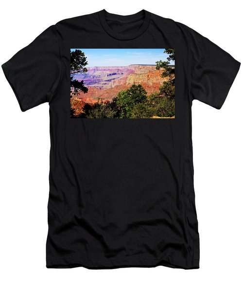 Men's T-Shirt (Athletic Fit) featuring the photograph Grand Canyon Arizona 2 by Tatiana Travelways