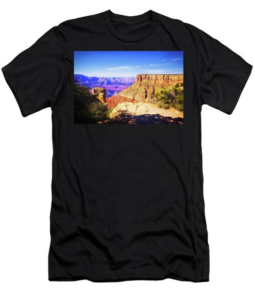 Men's T-Shirt (Athletic Fit) featuring the photograph Grand Canyon Arizona 3 by Tatiana Travelways