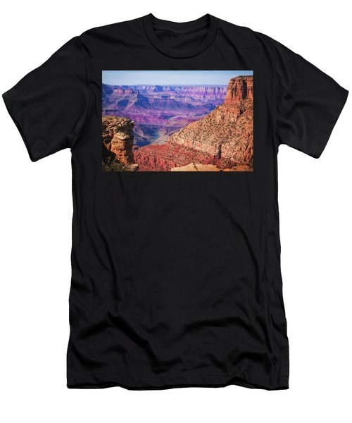 Men's T-Shirt (Athletic Fit) featuring the photograph Grand Canyon Arizona 4 by Tatiana Travelways