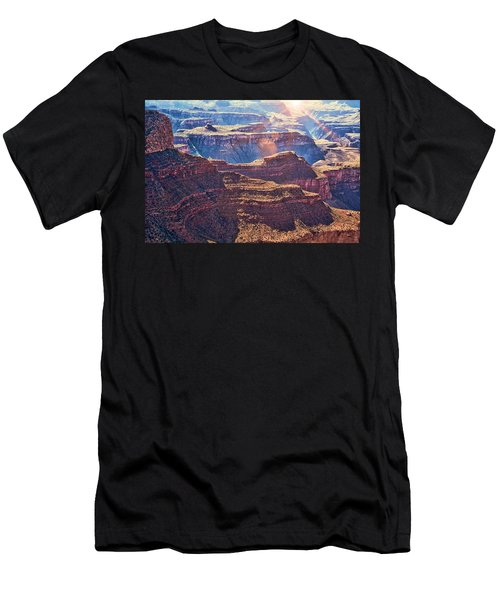 Men's T-Shirt (Athletic Fit) featuring the photograph Grand Canyon Arizona 8 by Tatiana Travelways