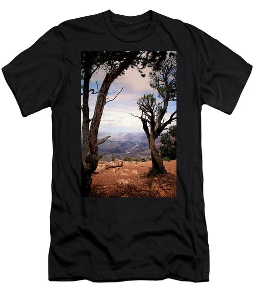 Grand Canyon, Az Men's T-Shirt (Athletic Fit)