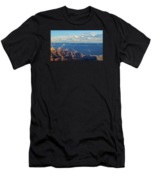 Grand Canyon North Rim Sunset San Francisco Peaks Men's T-Shirt (Athletic Fit)