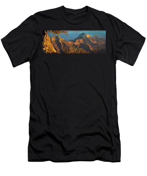 Grand Canyon Sunset Panorama Men's T-Shirt (Athletic Fit)