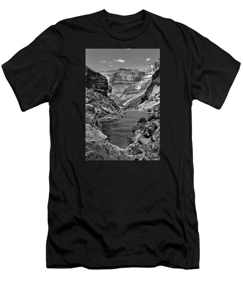 Grand Canyon Vista Men's T-Shirt (Athletic Fit)
