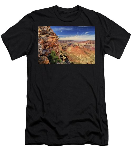 Grand Canyon Wall Men's T-Shirt (Athletic Fit)