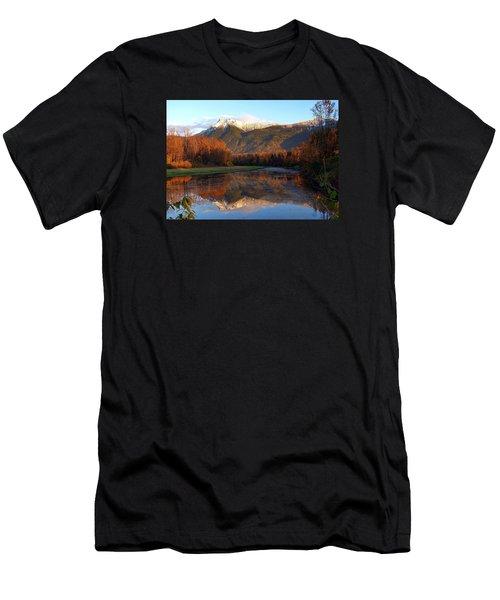 Mount Cheam, British Columbia Men's T-Shirt (Athletic Fit)