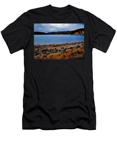 Grand Mesa Lake Men's T-Shirt (Athletic Fit)