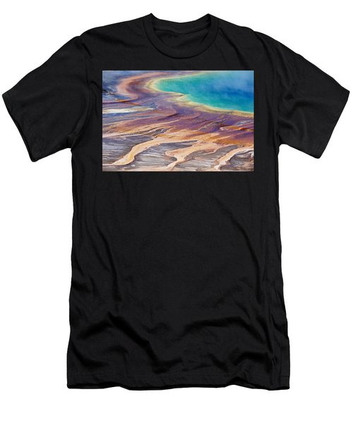 Grand Prismatic Spring 2 Men's T-Shirt (Athletic Fit)