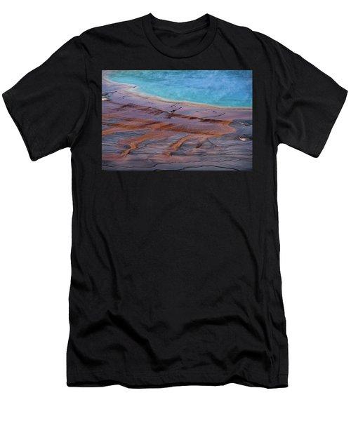 Grand Prismatic Spring Detail Men's T-Shirt (Athletic Fit)