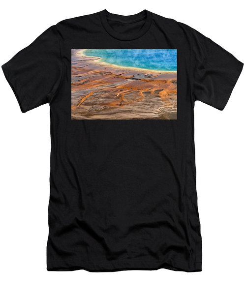 Grand Prismatic Spring Men's T-Shirt (Athletic Fit)