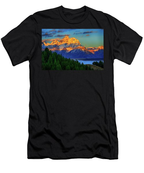 Grand Teton Alpenglow Men's T-Shirt (Athletic Fit)