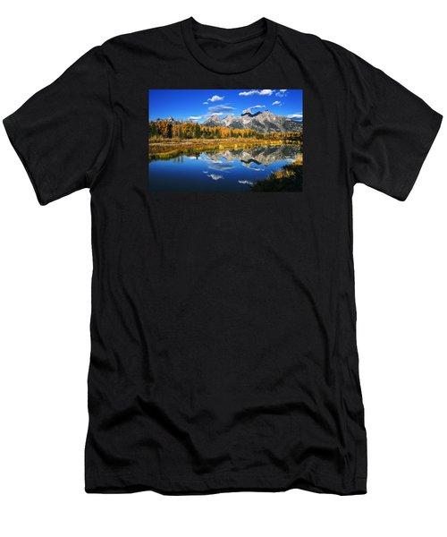 Grand Teton Autumn Beauty Men's T-Shirt (Athletic Fit)