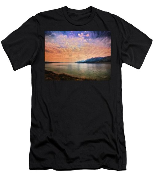 Grand Teton National Park - Jenny Lake Men's T-Shirt (Athletic Fit)