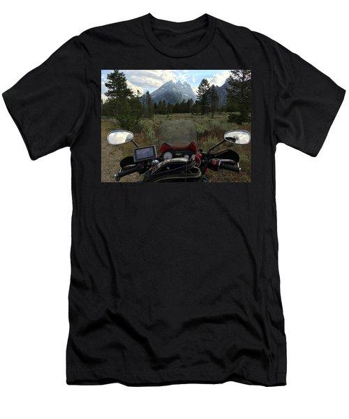 Grand Teton National Park Men's T-Shirt (Athletic Fit)