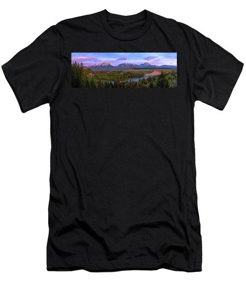 Grand Tetons Men's T-Shirt (Athletic Fit)