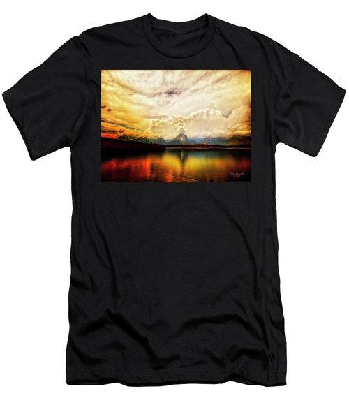 Grand Tetons - Jenny Lake No. 2 Men's T-Shirt (Athletic Fit)