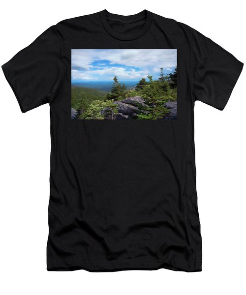 Grandfather Mountain Men's T-Shirt (Athletic Fit)