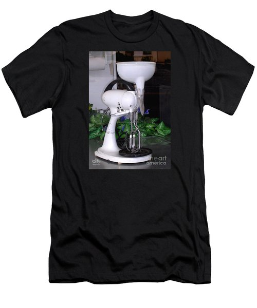 Men's T-Shirt (Athletic Fit) featuring the photograph Grandma's Old Mixer by Beauty For God