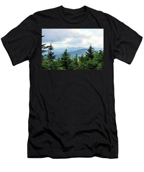 Grandmother Mountain Men's T-Shirt (Slim Fit) by Meta Gatschenberger