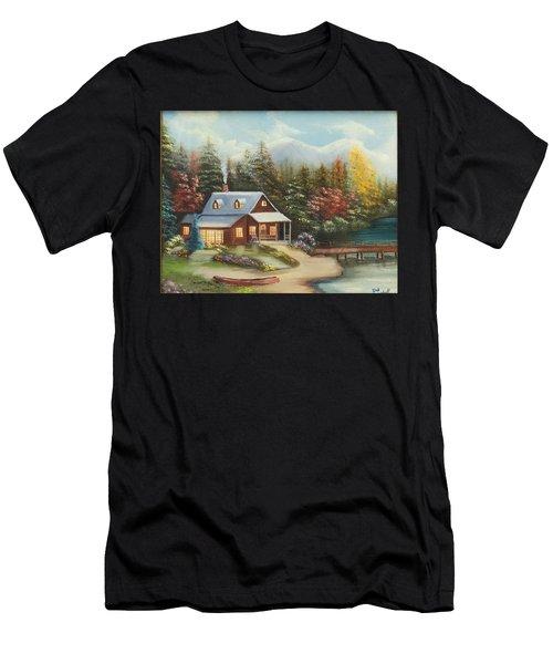 Grandpa's Cabin Men's T-Shirt (Athletic Fit)