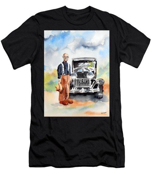 Grandpa's Chevy Men's T-Shirt (Athletic Fit)