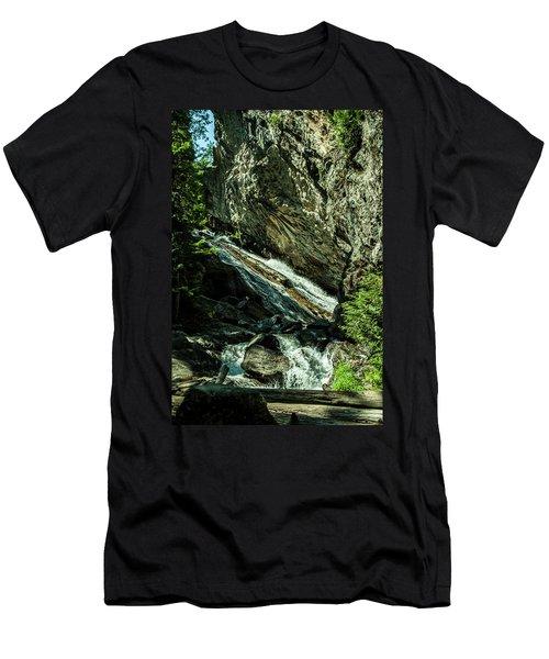 Granite Falls Of Ancient Cedars Men's T-Shirt (Athletic Fit)