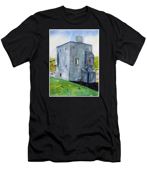 Granuaile's Castle Behind The Hill Men's T-Shirt (Athletic Fit)