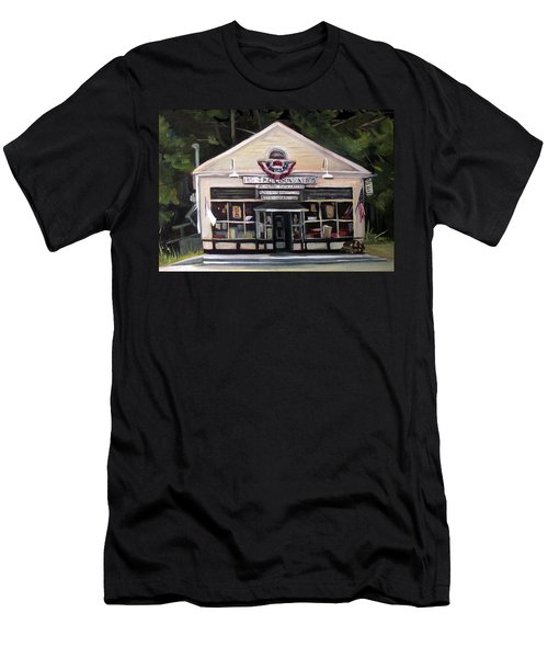 Granville Country Store Front View Men's T-Shirt (Athletic Fit)