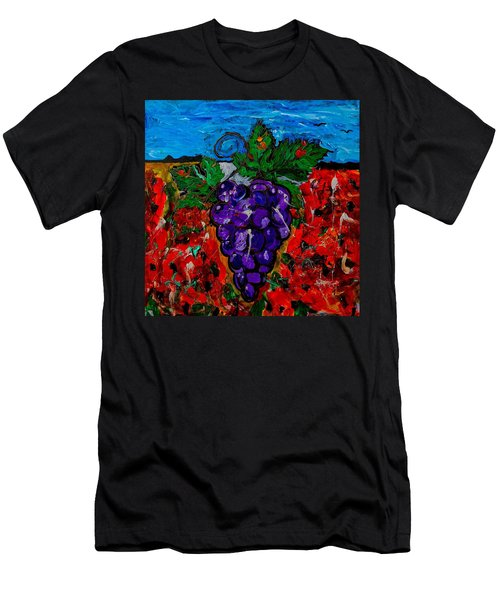Grape Jazz Men's T-Shirt (Athletic Fit)