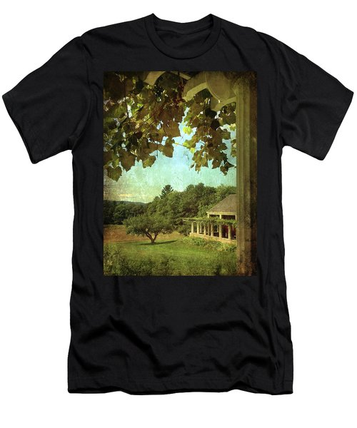 Grapes On Arbor  Men's T-Shirt (Athletic Fit)